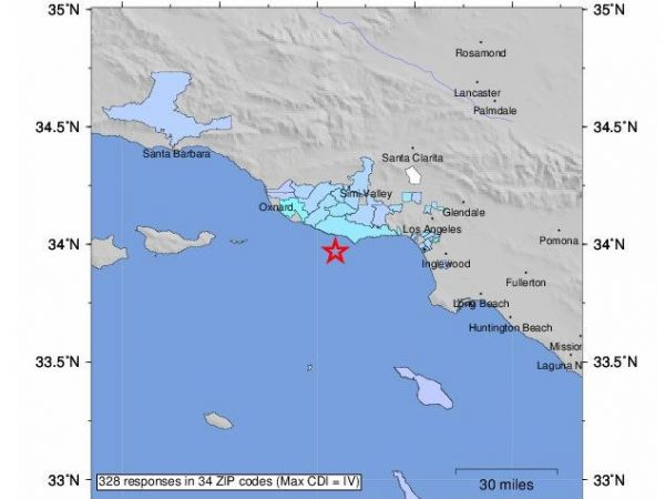 Magnitude 3.2 natural disaster  strikes near San Juan Bautista, California