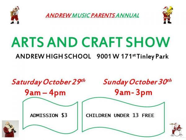 Tinley Park High School Craft Show