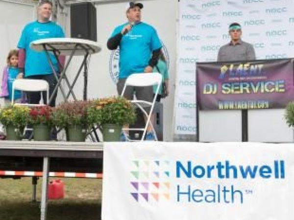 Northwell Health sponsored the National Ovarian Cancer Coalition 5K