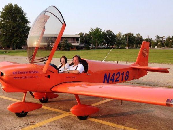 activist robert sherman u0026 39 s plane lost control shortly after