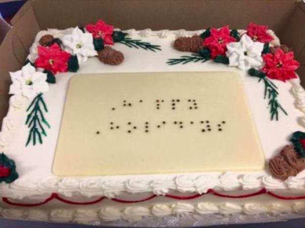 Donnas Cakes Makes Custom Braille Cakes - West Roxbury, MA Patch