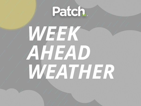 Partly cloudy skies ahead, rain later this week