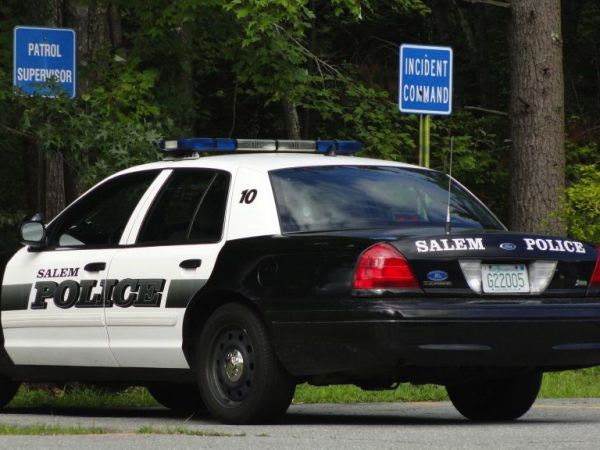 Salem mass police patch