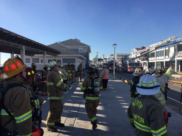 3-Alarm Fire at Hampton Beach Casino Ballroom Building
