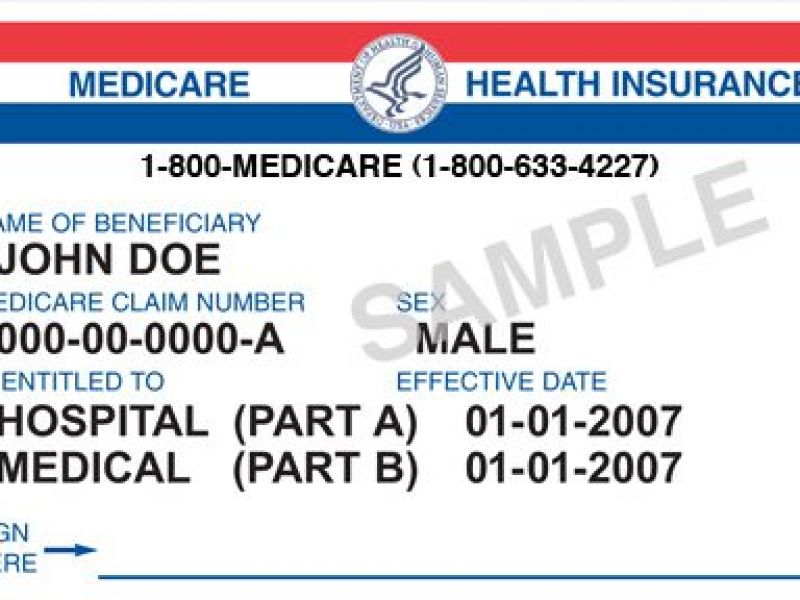 how to check insurance plan medicare card