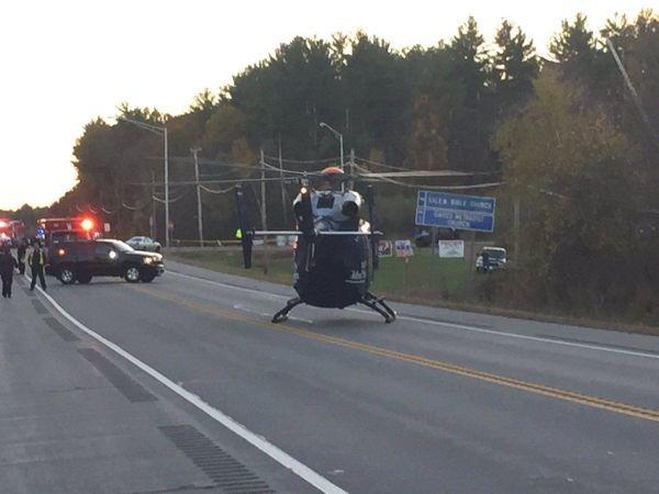 Killed, 4 Injured in 3-Vehicle Crash on New Hampshire Roadway