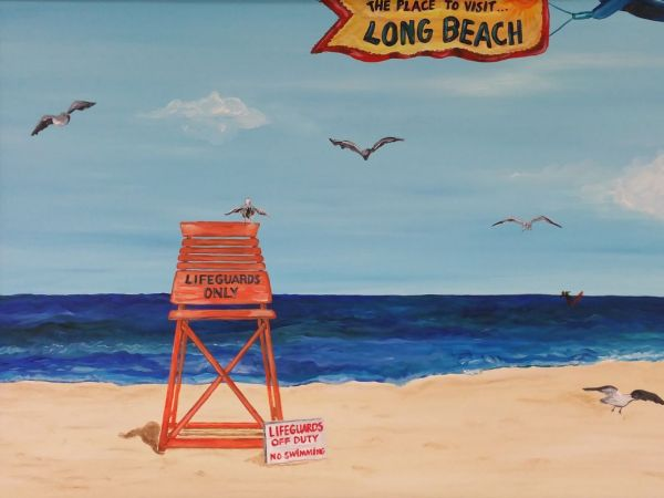 Long island artist has art show to benefit juvenile for Craft fairs long island