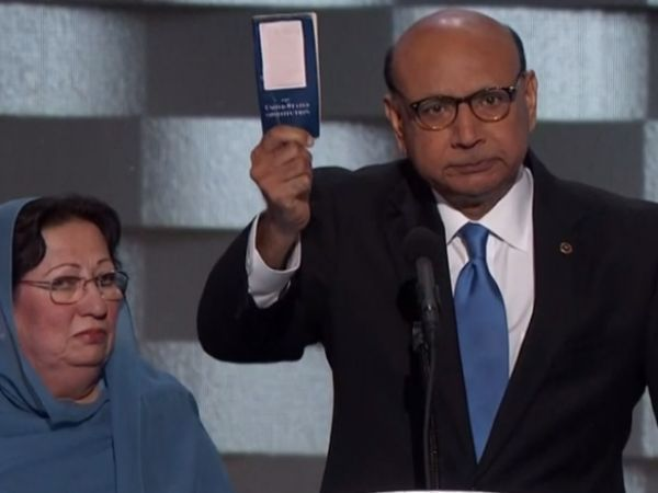Trump Says Humayun Khan Would Be Alive If He Were President