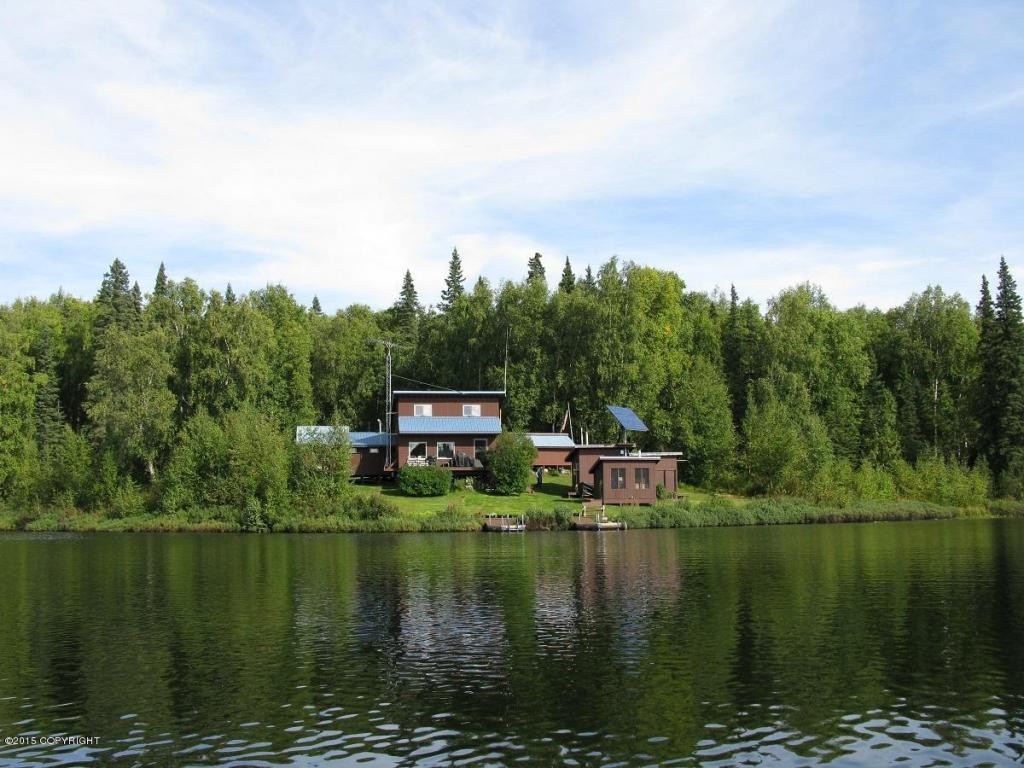 Alaska Doomsday Cabin Perfect To Wait Out The End Of Days