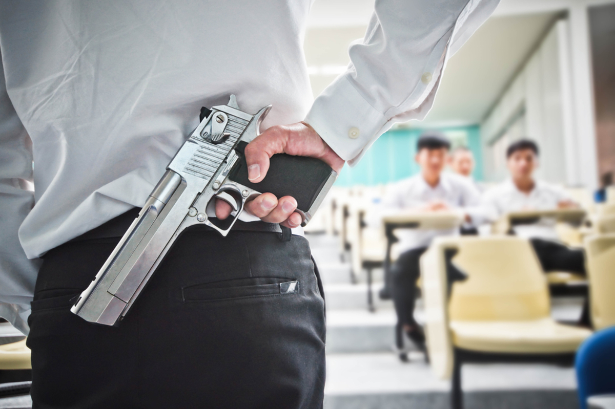 Kansas  Bill Would Arm Teachers, Hold Schools Liable In Shootings