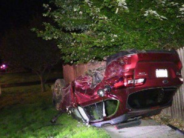 Driver Escapes Rollover Crash Uninjured Palos Il Patch