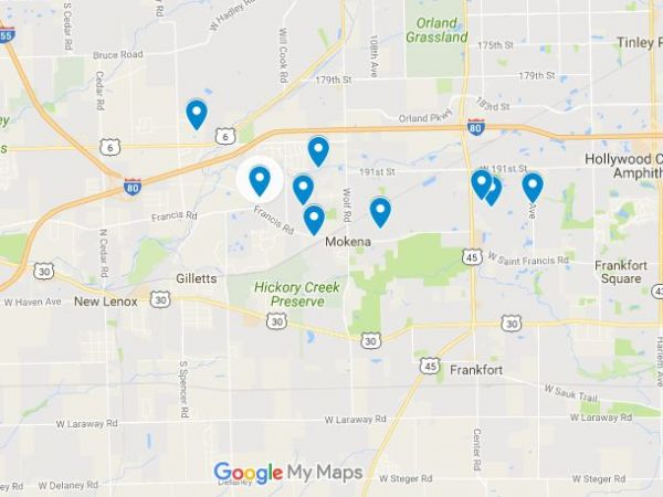 Sex offender search illinois map