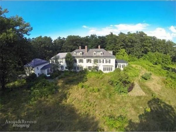 Most expensive home on the worcester market has carriage for Most expensive house in massachusetts