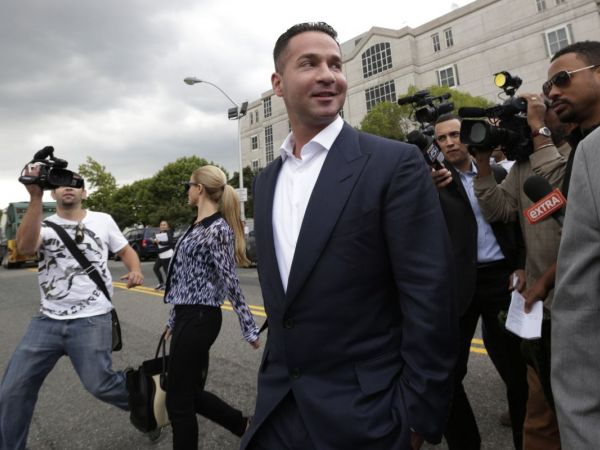 Gym, taxes, laundry: 'Jersey Shore' star 'The Situation' hit with more charges