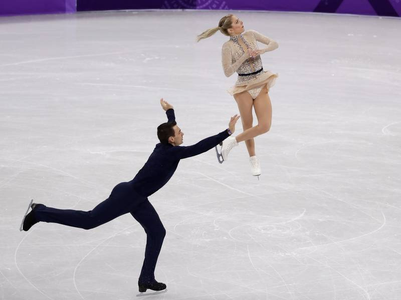 Winter Olympics 2018: Ramona-Raised Figure Skater, Wife ...