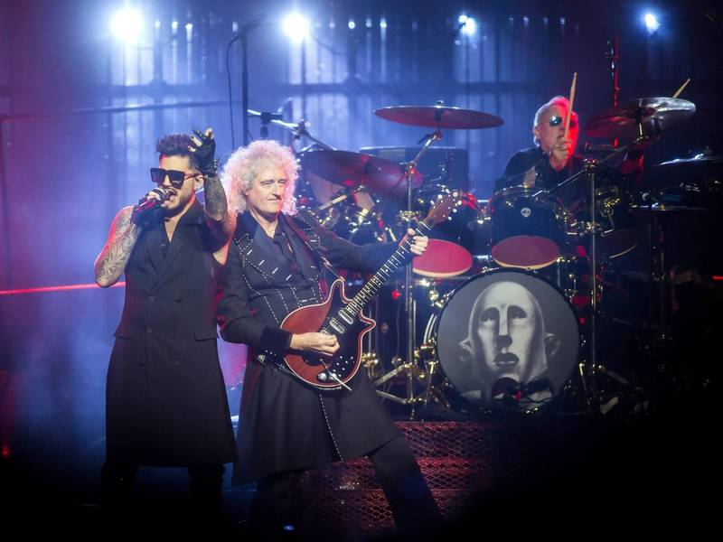Queen Playing In Philadelphia August 2019