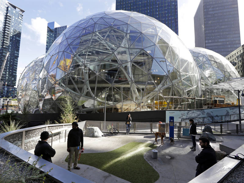 Image result for amazon in seattle