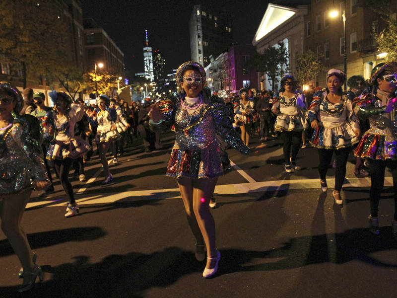 Greenwich Village Halloween Parade: Where To Watch, Road Closures ...
