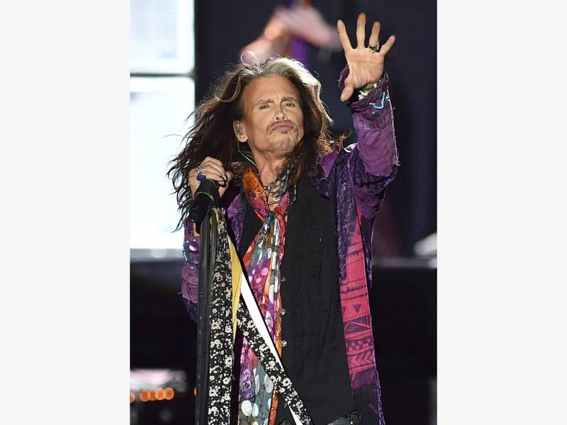 Steven Tyler Aerosmith Tour