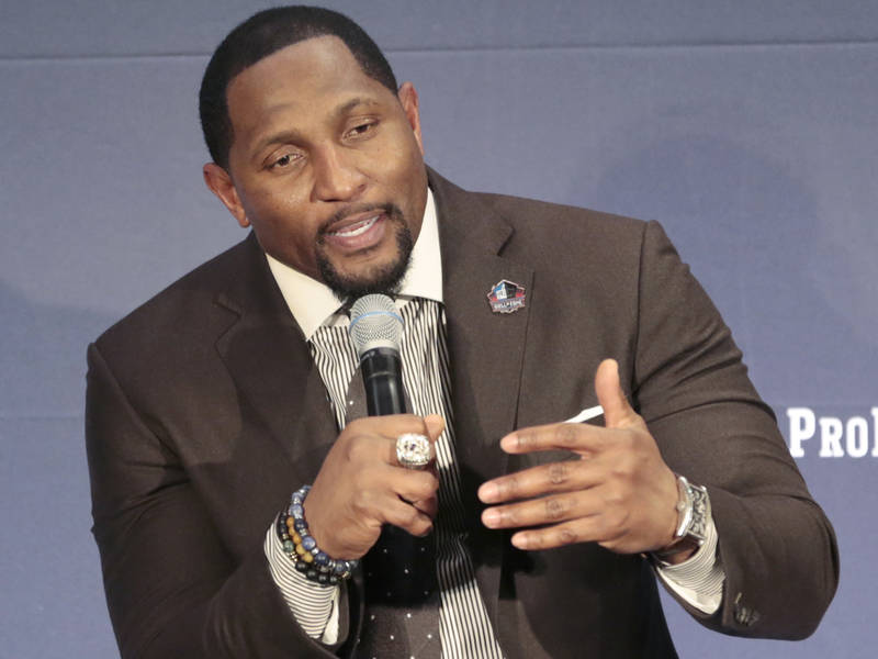 Ray Lewis Named To NFL Hall Of Fame  cd693b5a8