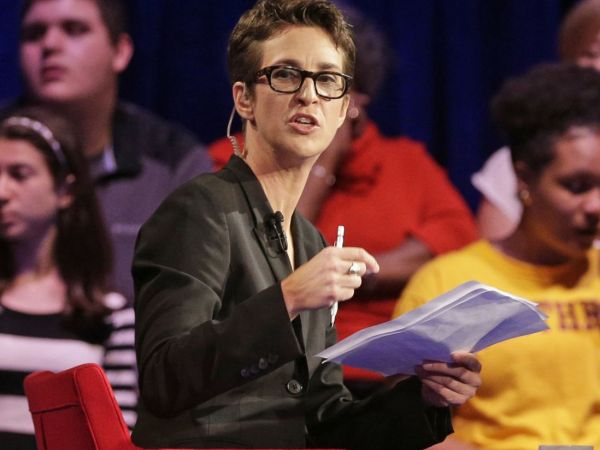Maddow defends Trump tax story - Fox dubs it 'big nothingburger'