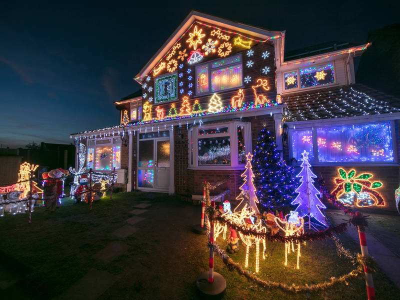 Find The Best Christmas Lights Near Newtown | Newtown, PA Patch