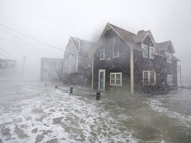 Nor'easter: Here's Some Of The Worst Damage, Flooding So ...