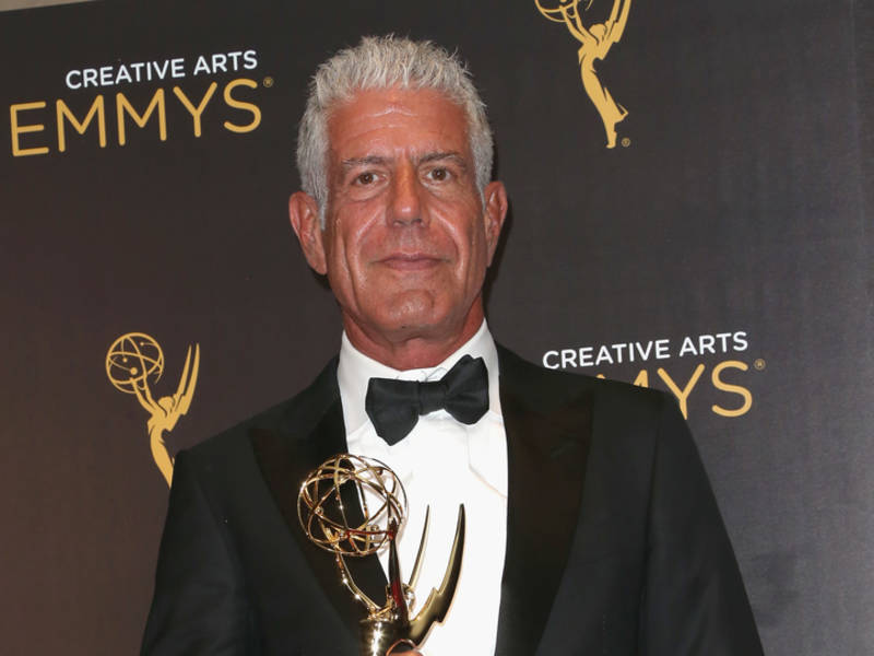 29ea75dc40 Anthony Bourdain  CNN Programming Honors Chef Saturday