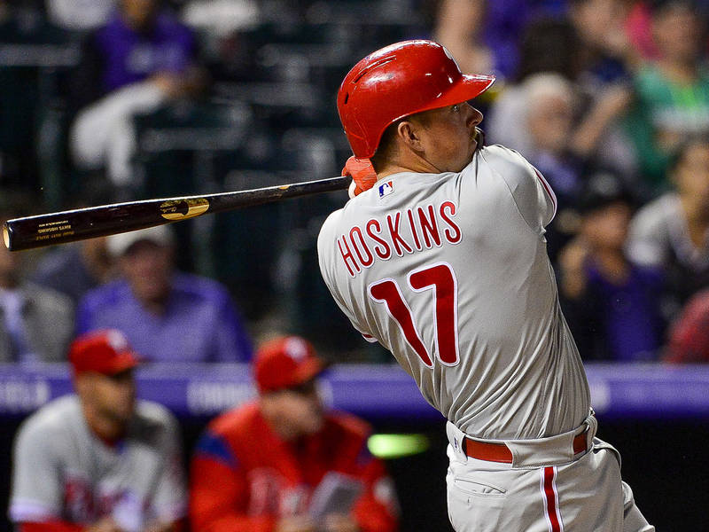 Rhys Hoskins, Phillies Legends To Bartend In Phoenixville