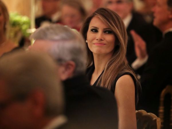 Melania Trump at Women of Courage Ceremony