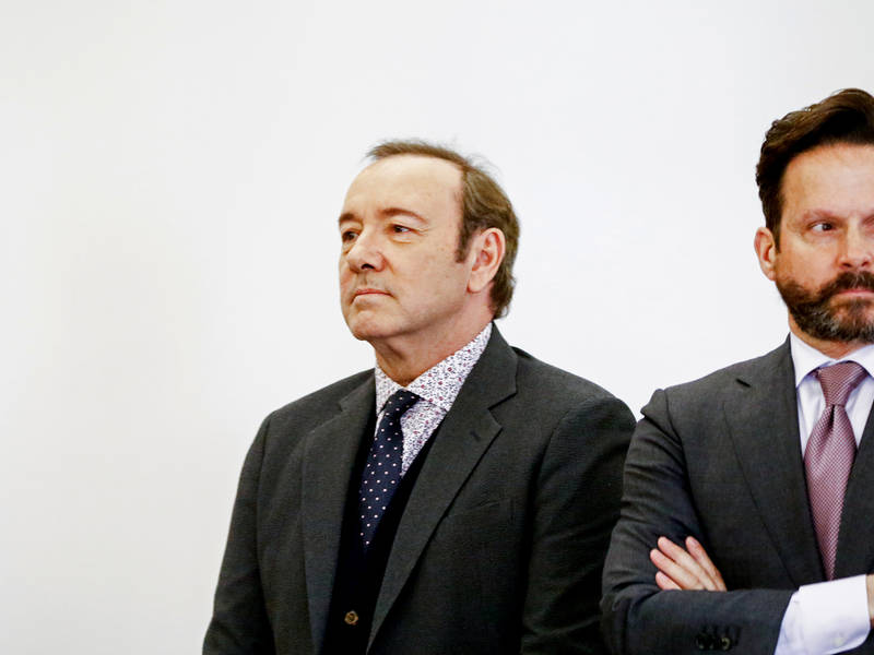 Kevin Spacey Pulled Over At Reagan Airport: Report