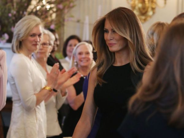 Melania Trump: Time for Empowering Women is Now