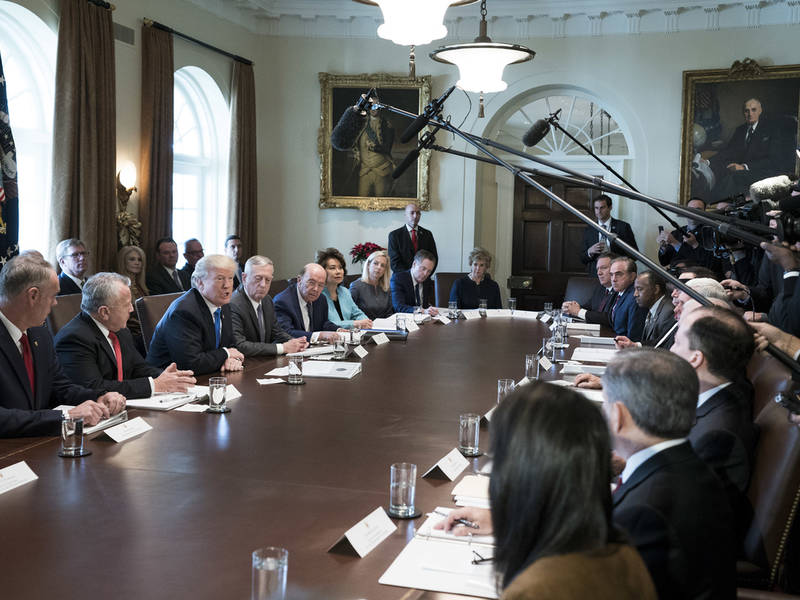 Trump Has Cabinet Meeting: White House Schedule December 20