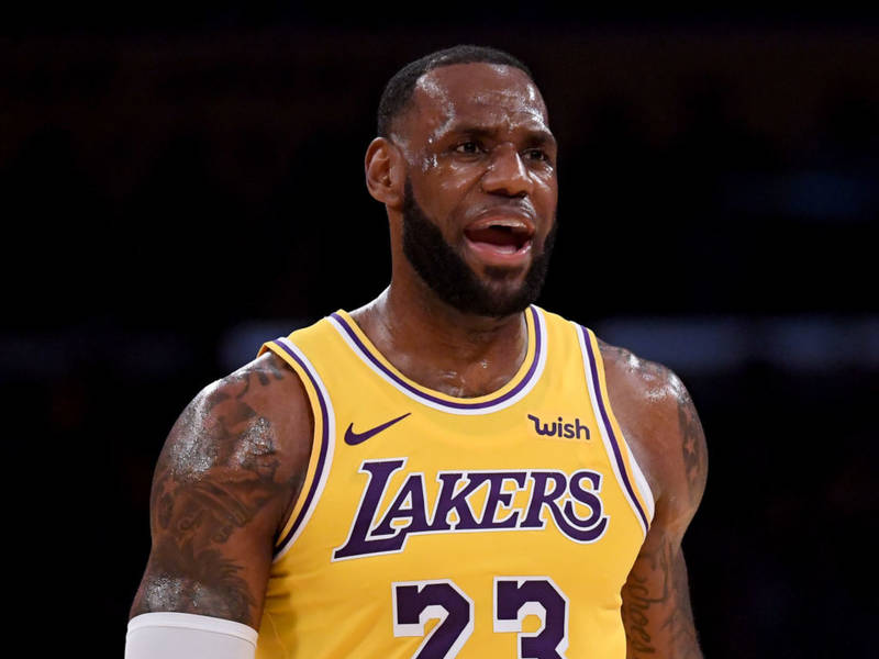 LeBron Not Too Shabby In Lakers Debut | Los Angeles, CA Patch