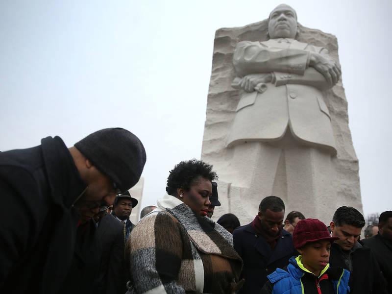 Government Closes As Gulf Coast Communities Honor MLK