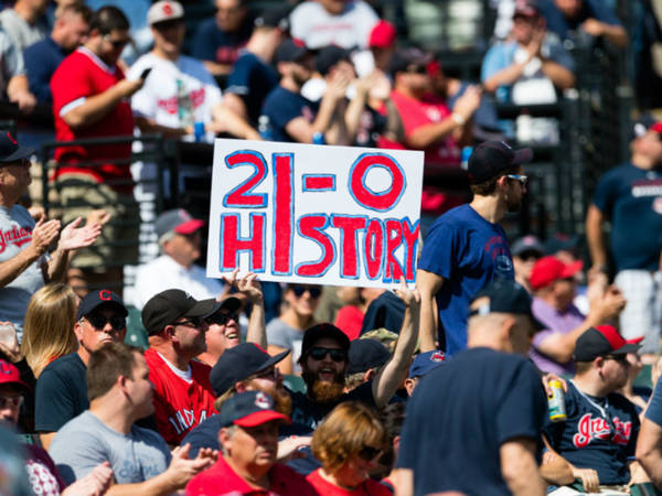Cleveland Indians Win 21 Straight, Longest Streak In AL History