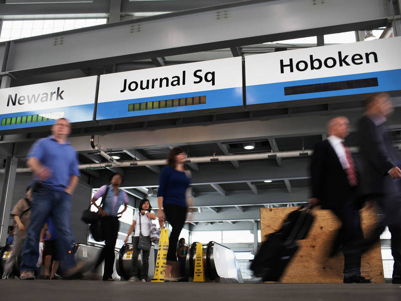 Path train link between nyc and newark airport proposed - Bus from port authority to jersey gardens ...