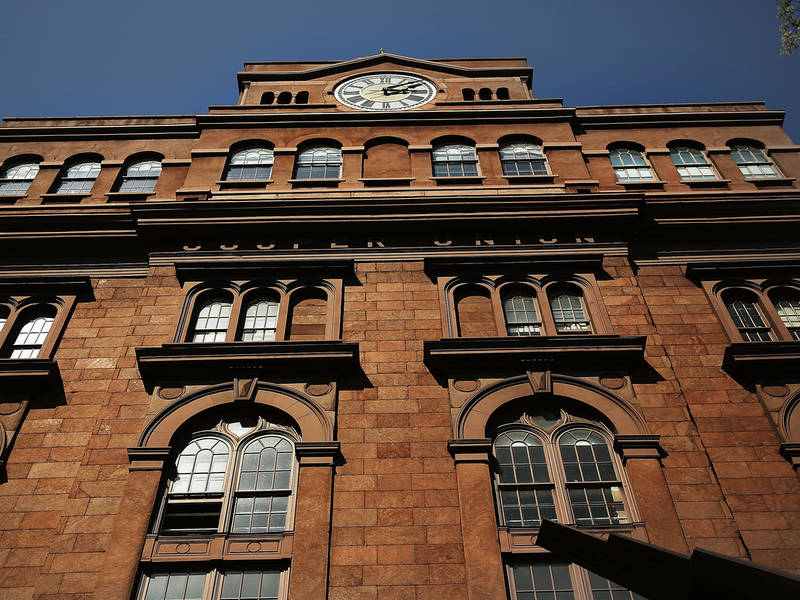 Cooper union plans to reinstate free tuition east for Coopers east village