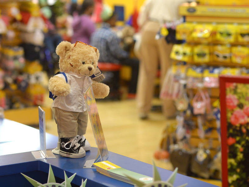 You can 'pay your age' at raleigh build-a-bear stores thursday.
