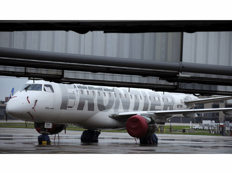 frontier launches nonstop route between vegas and indy