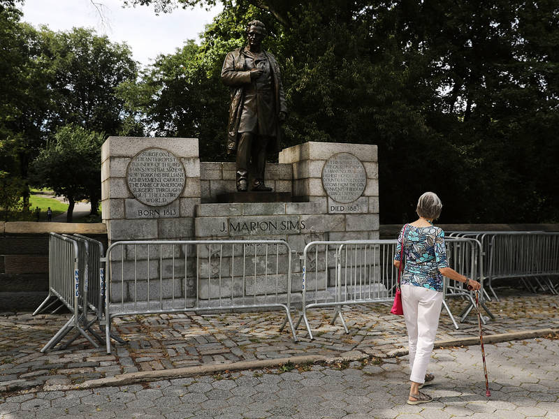J. Marion Sims Statue Headed To Brooklyn Tuesday