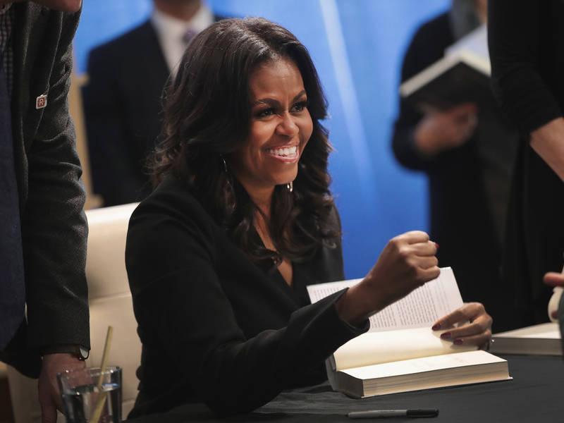 Michelle Obama Comes To Union Square Barnes & Noble Friday