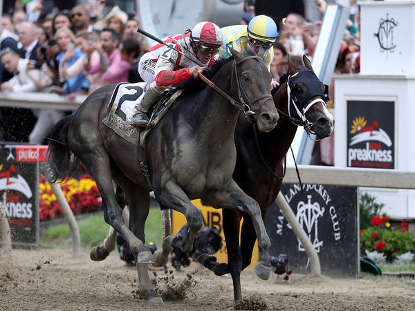Preakness Stakes 2018: Justify Wins Neck-And-Neck