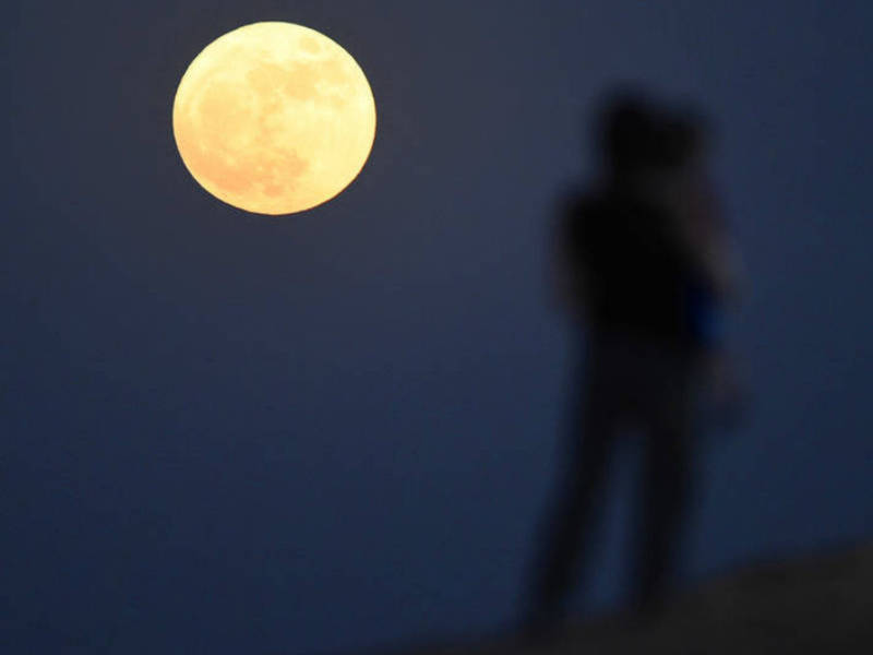 Supermoon Visible Brewster S Weekend Weather Video Southeast