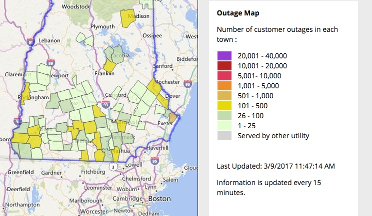 Eversource Outage Map pictures - Picture Joliet