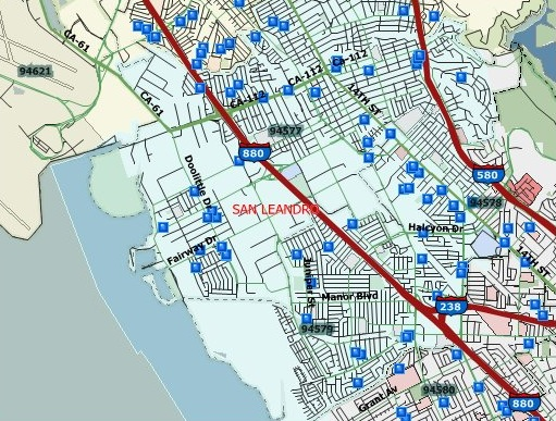 150 Sex Offenders in San Leandro 2016 Halloween Registry Map San