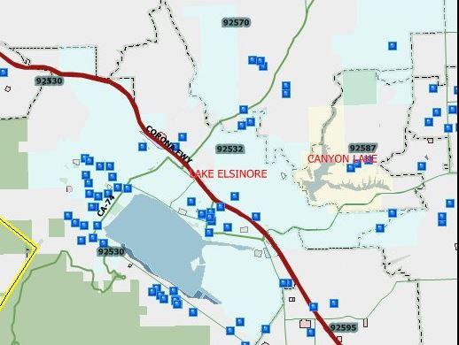 122 Sex Offenders in Lake Elsinore Wildomar 2016 Halloween