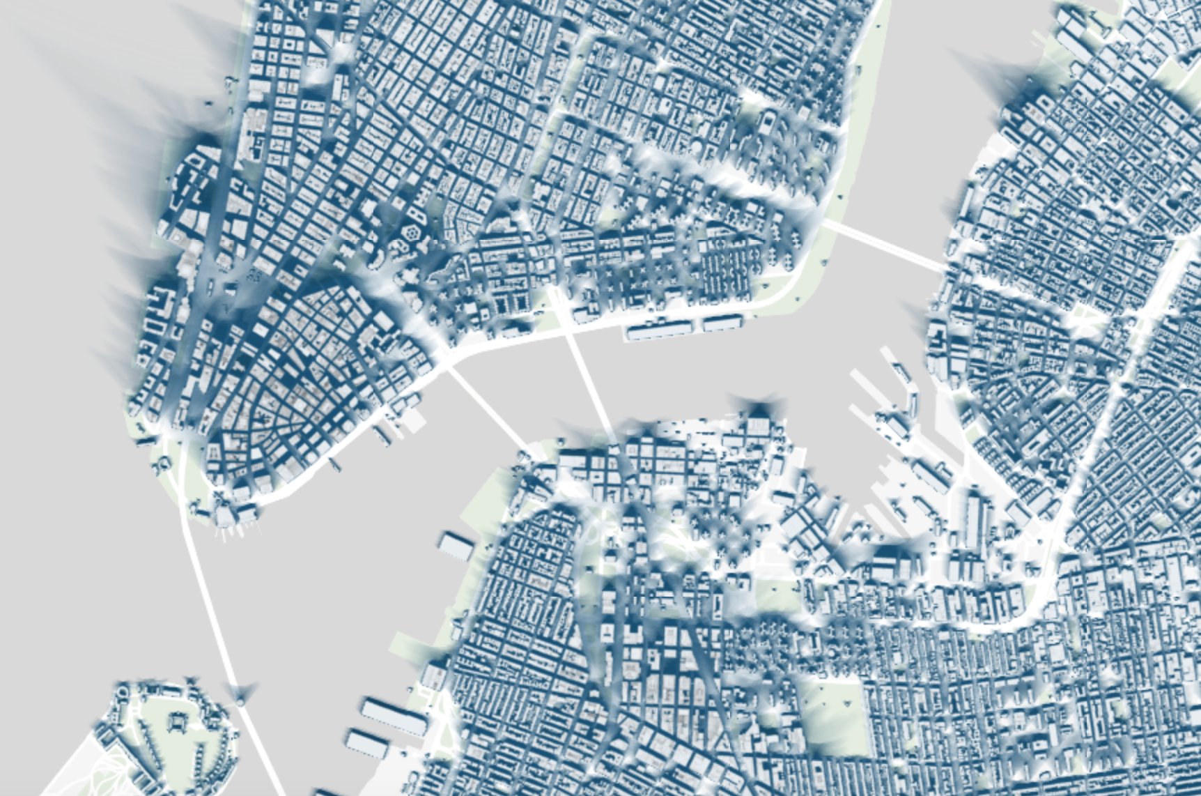 pictured a snapshot of the new york times shadow map explore the full map here