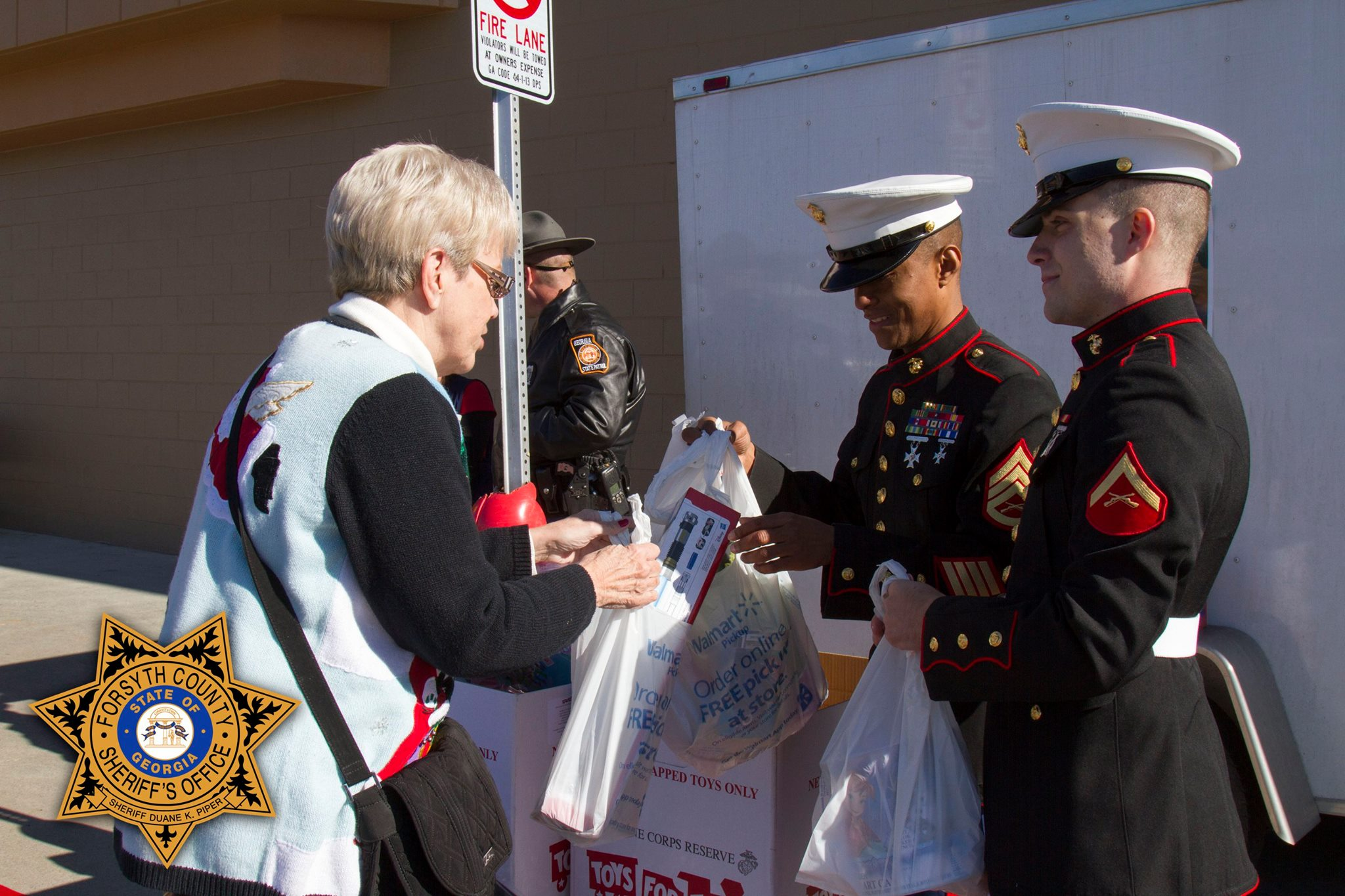 Forsyth Sheriff Declares Toys For Tots Collection A Success