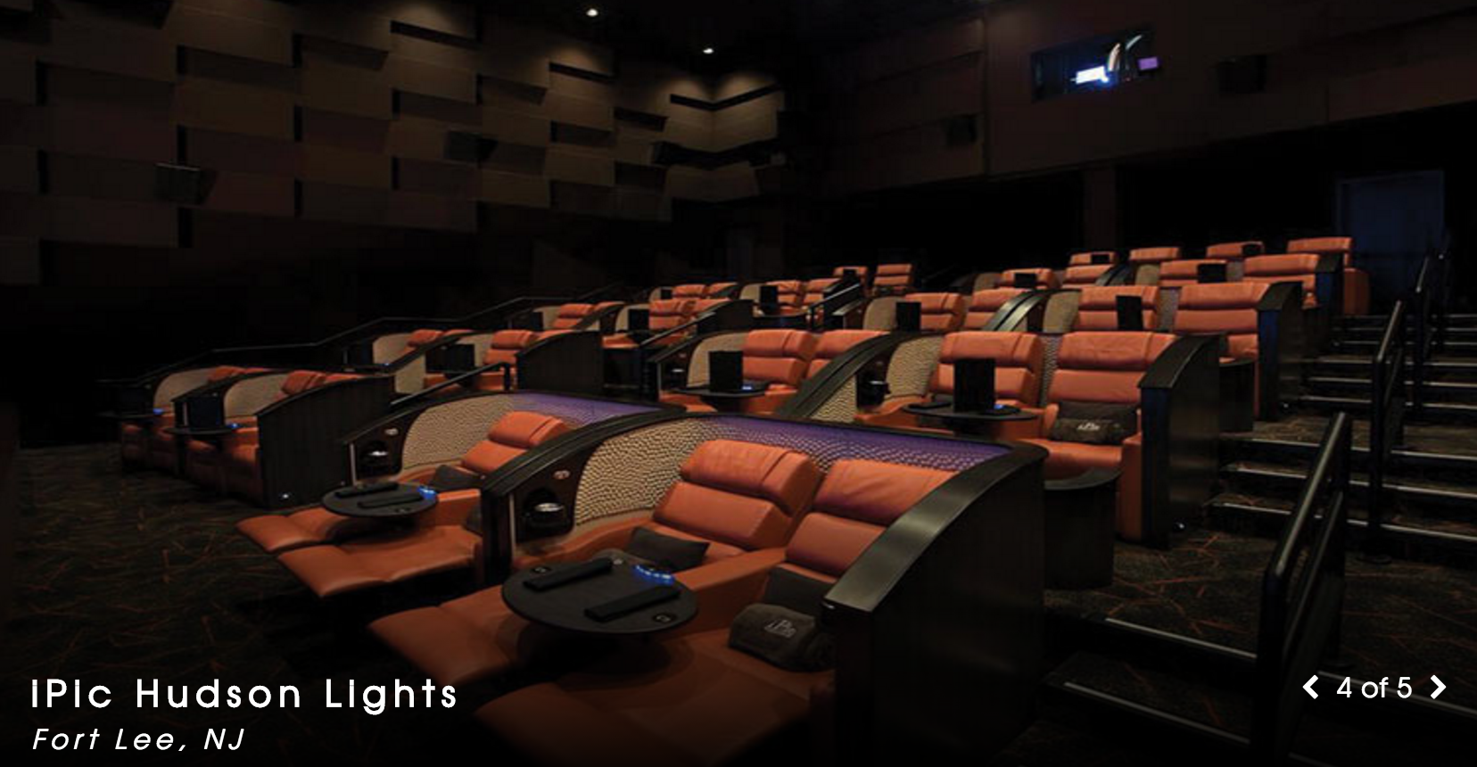 New Jersey Movie Theaters With Food